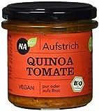 Nabio Aufstrich Quinoa Tomate, 6er Pack (6 x 140 g)