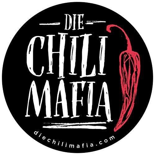 """Extra scharfe 2018 /""""Die Chili Mafia"""" Geschenkset/Das schärfste Weihnachtsgeschenk/Hochwertigen Chili Spezialitäten von kleinen Manufakturen"""