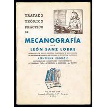 TRATADO TEORICO PRACTICO DE MECANOGRAFIA