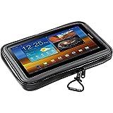 Cellular Line Interphone - Soporte para bicicleta o moto para smartphone y tablet de hasta 17,8 cm (7 pulgadas)