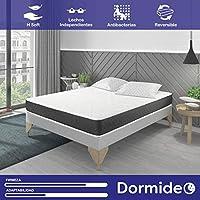 DORMIDEO Visco Basic - Colchón Viscoelástico, Higiénico y Transpirable 135x180
