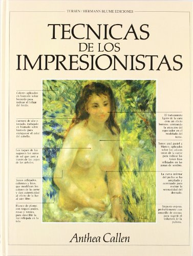 Técnicas de los impresionistas par ANTHEA CALLEN