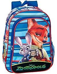Preisvergleich für Disney 37cm Zootropolis Badge Rucksack (Blau)