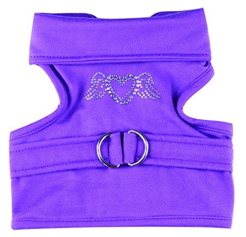 hundeinfo24.de Doggy Dolly DCL050 Hundegeschirr Stretch, violett, Größe : XXL