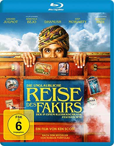 Die unglaubliche Reise des Fakirs, der in einem Kleiderschrank feststeckte [Blu-ray]