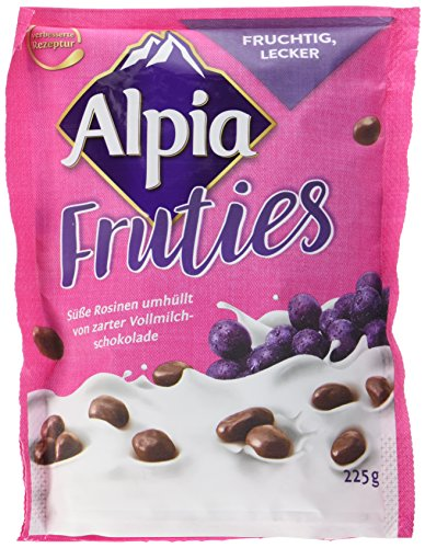 Alpia Fruties schokolierte Rosinen, 225 g