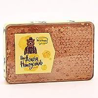 Raw Acacia Honeycomb 210g - Pure & Natural - Great Taste Award Winner