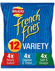 Walkers French Fries Variety Snacks, 18 g, Pack of 12