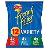 Walkers French Fries Variety Multipack Snacks, 12 x 18 g