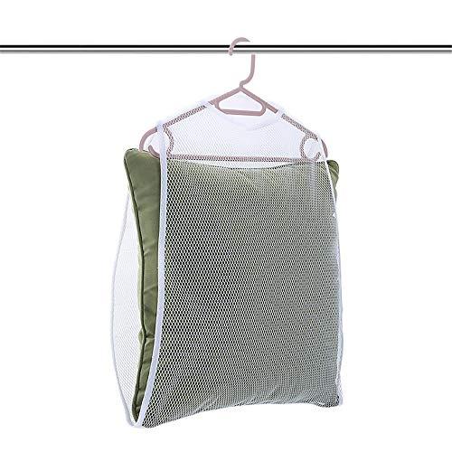 Unbekannt Mali Kissen Trocknen Netto Balkon Winddicht Spielzeug Wäscheständer Hängend Kleiderbügel 2 Stück