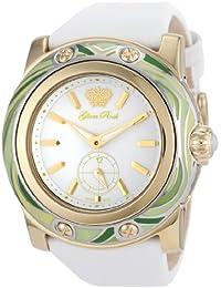 Glam Rock Damen-Armbanduhr XL Analog Textil GR10500
