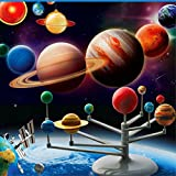 Fusino DIY Explore Nine Planets Solar System Planetarium Painting kids Science Educational Toys
