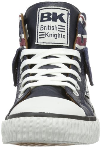British Knights B30-3798, Hi-Top Slippers mixte adulte Blue (Navy 03)