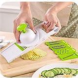 Coupe-légumes à fonctions multiples Coupe-légumes avec lame en acier inoxydable...