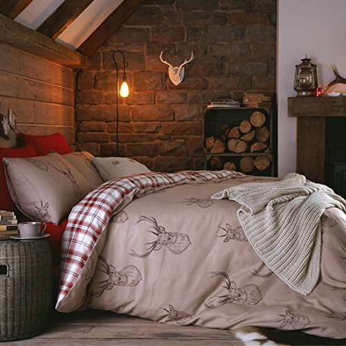 just-contempo-woodland-stag-duvet-cover-set-king-red