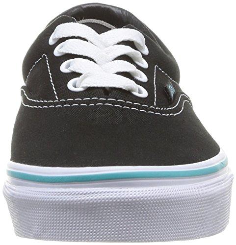 Vans ERA Unisex-Kinder Sneakers Schwarz (Pop) black/blu FJW)