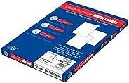 FIS Multipurpose White Labels - E.U. Origin Material (1 Stickers x 100 Sheet) A4 Size - FSLA1-1-100