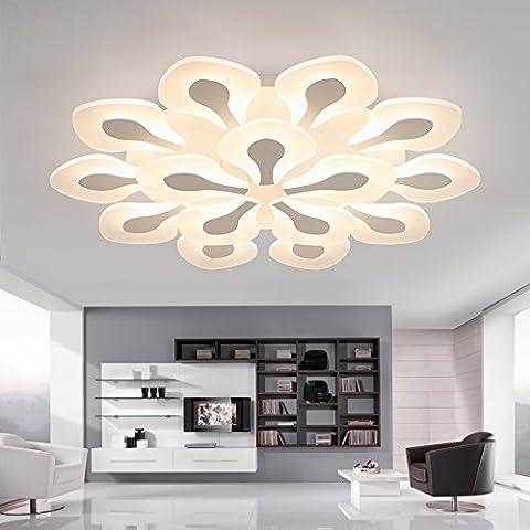 Uno stile moderno e minimalista camera da letto soggiorno ristorante Cafe lampadari luce a soffitto-G343