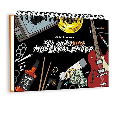 DIN A5 radioeins Musikkalender Immerwährender Wiederkehrender Kalender