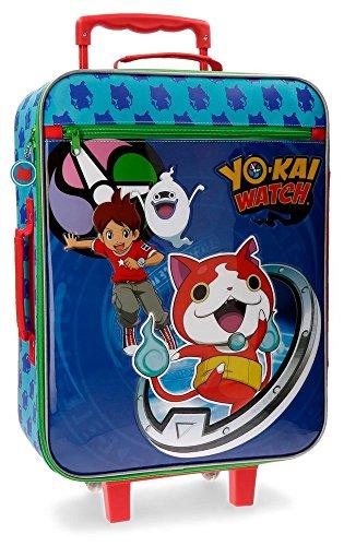 Yokai Watch Yokai Equipaje Infantil, 50 cm, 25 Litros, Azul