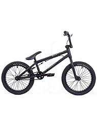 KHE Bmx bicicleta Arsenic 18pulgadas Negro, Model 2016; directamente desde KHE.