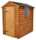 Forest 6 x 4 ft Apex Gartenhaus Eingetaucht Easy Fit Dach