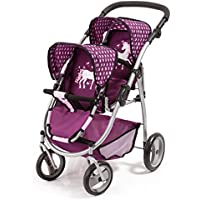 Bayer Design Silla Gemelos Twin Tandem Violeta Color Pink, Purple 26537AA