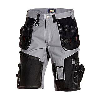 Blakläder 150213709499C56 Handwerker-Shorts X1500, Grau/Schwarz, C56