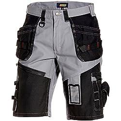 Blakläder 150213709499C50 X1500 Short artisan Taille C50 Gris/Noir