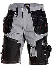 Blakläder Arbeitshose Shorts Handwerker X1500 1502 grau, Farbe:grau/sw;Größe:56
