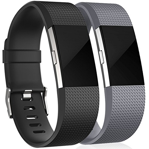 Tobfit Fitbit Charge 2 Correa Adjustable Sport pulsera