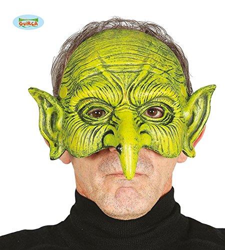 x Halbmaske Halloween Hexenmaske Maske Hexe Horror gruselig (Hexe Halloween-film)