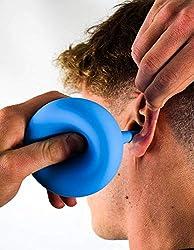 AVAURA® Ohrenreiniger 200ml - inkl. E-Book zur optimalen Entfernung von Ohrenschmalz - Medizinische Ohrenspritze für Kinder und Erwachsene