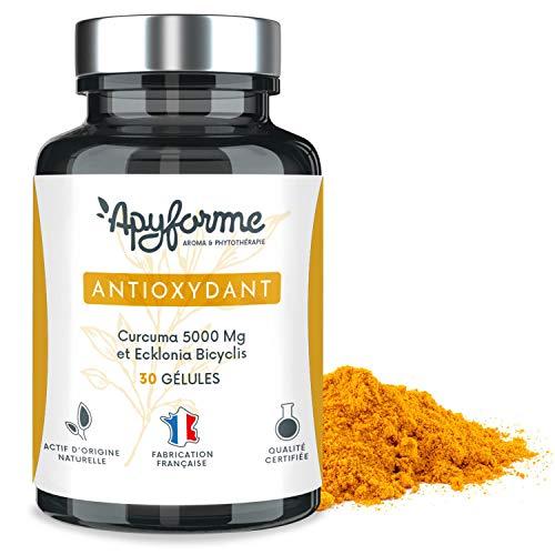 Antioxidative Orac-wert (Antioxidans, 11mal stärker als Spirulina: Curcumin, Polyphenole, Polysaccharide, Fucoidan)