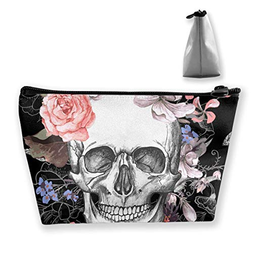 ar Skull Cosmetic Makeup Bag/Pouch/Clutch Travel Case Organizer Storage Bag for Women¡¯s Accessories Toiletry Beauty,Skincare Travel Accessory ()