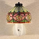 Old Tupton Ware - LED Night Light - Tiffany Design