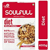 Soulfull Millet Muesli Diet - No Added Sugar, 400g