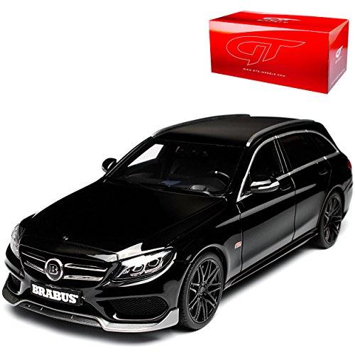 GT Spirit Mercedes-Benz C-Klasse C63 S AMG Bra-Bus B25 Kombi S205 Schwarz Ab 2014 Nr 180 1/18 Modell Auto