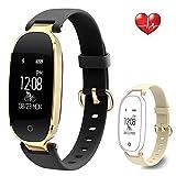 Fitness Tracker Heart Rate Monitor Waterproof Activity Bluetooth Smart Watch