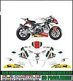 Adesivi Stickers Grafica personalizzata compatibili con moto Aprilia RSV4 COD008