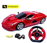 #5: Zest 4 Toyz Steering Remote Control Racing Car, Assorted Design & Colors