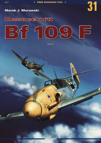 Messerschmitt Bf-109 F Vol. I (Monographs) por Marek J. Murawski