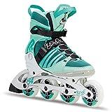 K2 Damen Fitness Inline Skates Alexis 84 Pro, grün-schwarz, 38 EU (5 UK), 30C0114.1.1.075