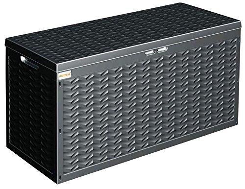 Gartenbox Auflagenbox Kissenbox Gartentruhe 320L 120x45x60