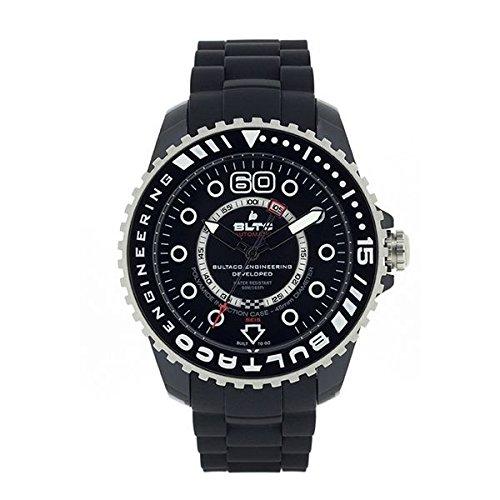 9d2b6a6e4a67 Bultaco Reloj analogico para Hombre de automático con Correa en Acero  Inoxidable BLPB45ACB1