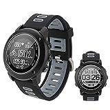 SinceY Montre Intelligente de Sport avec Boussole et GPS,Bluetooth 4.2 Smart Watch...