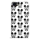 Cover Custodia Protettiva Case Mickey Topolino Pattern Cartone Simpatico Mouse per Iphone 7 - Iphone 7 Plus -Iphone 8 - Iphone 8 Plus - Iphone X