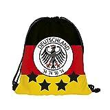 Luckja Deutschland EM 2016 Turnbeutel Rucksack