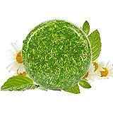 Shampooing secs Savon Cheveux Fait Main Hair Soap Conditioner de huile essentielle de plante (Gingembre)