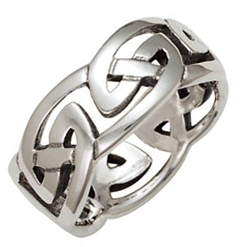 mens-10mm-solid-silver-celtic-eternal-knot-ring-size-s-gift-boxed-celtic-jewellery
